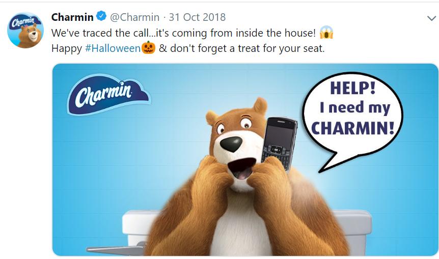 Charmin's Twitter Post