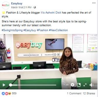 Easybuy Facebook Post