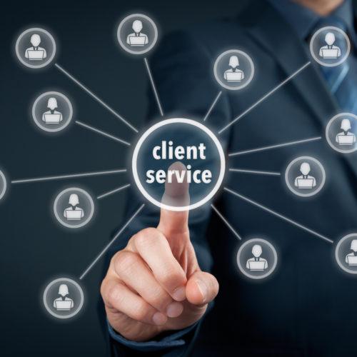 Client Servicing