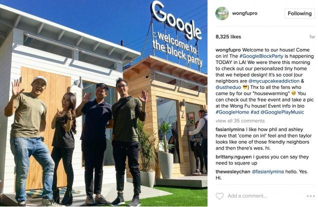 Wong Fu Google Event